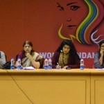 l-L-R Hon'bl Justice(Retd.) Manju Goel, Social Activist Madhavi Narayanan, Film Critic Anna Veticad, Public Policy expert Shabnam Siddiqui