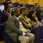 students & speakers at iimc