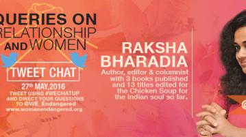 Raksha tweet chat