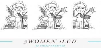 3 women 3 stories 1 LCD