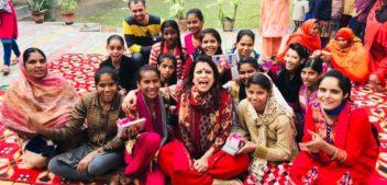 Menstrual Cup distribution: Breaking Taboos